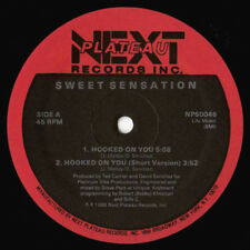 Sweet Sensation - Hooked On You - New 12 Inch Single Vinly Record