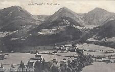 Schattwald Tirolo AK 1910 PANORAMA ALPI AUSTRIA 1610322
