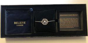 Solar Plexus Chakra Healing Stone Bracelet New in Box - B200a Xmas / Birthday