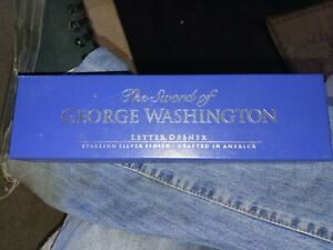 Mount Vernon | The Sword of George Washington | Letter Opener | Silver Finish
