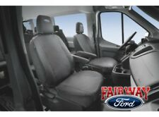15 thru 19 Transit 150 250 350 OEM Ford Front Seat Cover Set PAIR - Charcoal