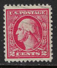 SCOTT 527 1920 2 CENT WASHINGTON REGULAR ISSUE TYPE V USED VF!