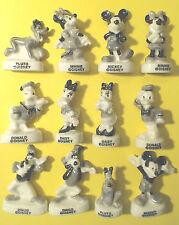 FEVES DISNEY   MICKEY VINTAGE  série complète ...ref.W39 BRILLANTE