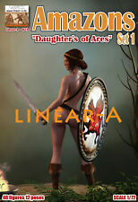 """1:72 FIGUREN 021 Amazons """"Daughter's of Ares"""" - LINEAR-A"""