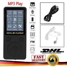 "MP3 Spieler HiFi Bass Musik Player FM Radio AMV TF 32GB 1.8"" LCD Display+Headset"
