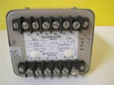 OHIO SEMITRONICS TRANSDUCER EW511B 0-300V 0-10A 1 PH 1mA=2KW 1701 OSI CAL JB