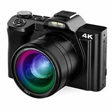 4K Digital Camera, Vlogging Camera for YouTube 48MP AiTechny Video Camera Cam...