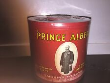 1 Prince albert crimpcut pipe tobacco can sealed lot