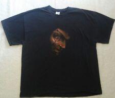 Hooked Eye Scary Head Halloween Costume Mens Black T-Shirt sz 2XL used