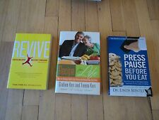 3 Health Books Revive Press Pause Before You Eat Recipe Life Galloping Gourmet