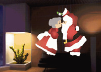 Christmas Outdoor LED Lights Moving Laser Projector water proof, even lighting