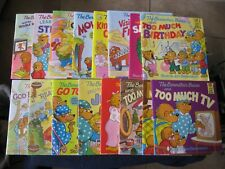The Berenstain Bears VTG Children BOOKS ~ Lot of 16