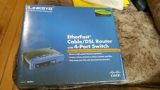 Linksys EtherFast 4-Port Cable/Dsl Wired Router Befsr41 New Factory Sealed