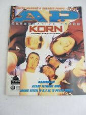 Alternative Press 1997 - KORN, Radiohead, Atari Teenage Riot Peter Buck, UPC Cut
