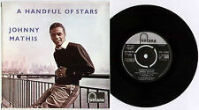 "JOHNNY MATHIS ~ A HANDFUL OF STARS ~ 1958 UK 4-TRACK 7"" EP ~ FONTANA TFE.17091"