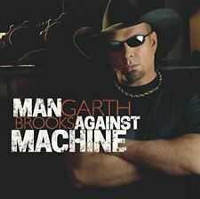 Garth Brooks - Man Contra La Máquina - CD álbum Damaged Funda