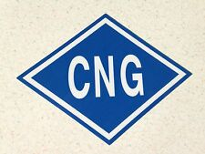 CNG Sticker / Decal for Compressed Natural Gas Vehicles