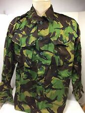 British DPM Tropical Camo Jungle Shirt Size Medium, Lightweight