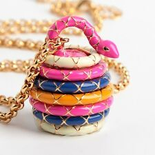 Kate Spade New York Spice Things Up Snake Locket Charm Necklace New