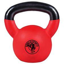 Gorilla Sports Red Rubber Kettlebell Hantel 20 Kg O16e0-tb260