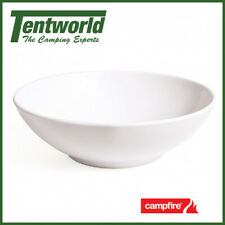 Campfire Melamine Bowl White - Rays Outdoors