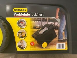 Stanley Pro Mobile Tool 53 litre Chest Storage Box Plastic