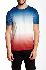 Lucky Brand Americana Dip Dye Men's Crew Neck Tee Shirt T-Shirt NEW M