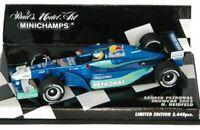 MINICHAMPS 010016 020007 020097 030079 SAUBER F1 model car HEIDFELD 2001/03 1:43