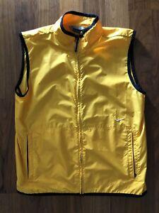 Vintage Nike Nylon Yellow Vest raver tech acg Travis Scott Large