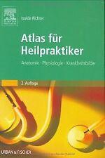 Atlas für Heilpraktiker: Anatomie - Physiologie - Krankh... | Buch | Zustand gut