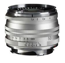 Voigtländer VM 50mm 1:1,5 nokton M.C. asphärisch Leica m plata