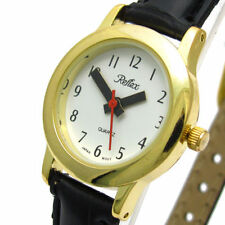 Women's Plastic Band Polished Round Wristwatches