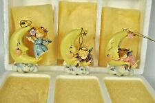 Heaven's Little Helpers Ornaments Set of 3 First Set of Series #7572A Bradford