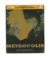 METROPOLIS - UK EXCLUSIVE BLU RAY + DVD STEELBOOK - NEW & SEALED Japanese Cinema
