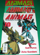 ANIMAG (FIRST EDITION) - THE MAGAZINE OF JAPANESE ANIMATION # 10-11-12 (1990)