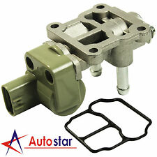IACV Idle Air Control Valve + Gasket For Honda Civic CX DX EX GX HX LX 1.6L SOHC