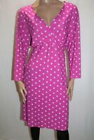 Jon & Anna New York Brand Pink White Polka Dot Wrap Dress PLUS Size 3X BNWT #LIN