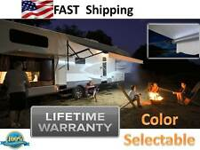 LED Motorhome RV Lights __ Awning LIGHTING Kit __ red blue green pink orange AA