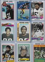 Steelers All-Time Greatest Vintage Lot of (25) w/ Rookies Stallworth Shell EX