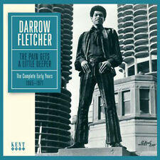 "DARROW FLETCHER  ""THE COMPLETE EARLY YEARS 1965 - 1971""  23 KILLER TRACKS"