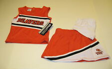 3 piece set OREGON STATE BEAVERS Toddler Girls CHEERLEADER Outfit New! NWT Sz 4T