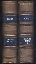 Revue des 2 mondes Tomes 34+35 Campagne de 1815 de Quinet et autres 07-10/1861