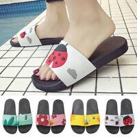 Women's Flip Flop Slippers Slip On Casual Shoes Bath Shower Flat Comfy Sandals