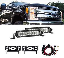 RIGID 41618 Grille LED Light Kit for Ford F250 F350 Pair SR-Series PRO Driving