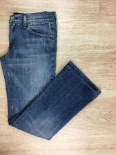 USED Womens 30x28 - 7 For All Mankind Mid Wash Denim Boot Cut Denim Pant Jeans