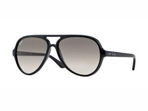 Sonnenbrille Ray Ban RB4125 CATS 5000 schwarz Crystal grau verschwinden 601/32
