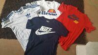 Mens t shirt bundle size small. Nike, Adidas & Ellesse