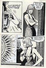 CREATURE DES NEIGES (ESPINOSA/JIMMY GUIEU) PLANCHE  AREDIT PAGE 27 PIN-UP