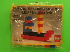 1983 McDonalds - Lego *Test Market* set 2 tanker *MIP* *VERY RARE*