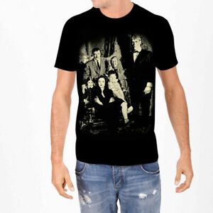 Addams Family T-Shirt Portrait Photo Tee New Authentic S-2XL
